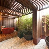 ■〔本館〕和スイート 富士・桜 客室露天風呂