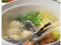 寒グロの水炊き
