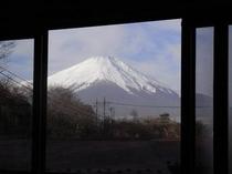 富士山が見える好立地