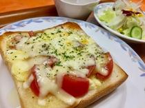 朝食☆ フレッシュトマトのチーズトースト