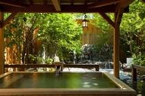 貸切露天風呂「檜の湯」