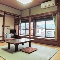 【和室6畳・一例】古き良き日本の和室。広々と快適です♪