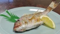 *【鯛の塩焼き】棚底港は、天然鯛の釣り場としては日本一!
