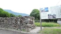 *【周辺】国指定史跡の「棚底城跡」。文化財も多く、歴史散策にも最適な町です。