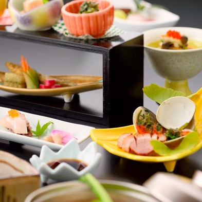 【夏旅セール】◆清乃屋満喫プラン◆『旬の美味会席』&3大おたのしみ付き♪