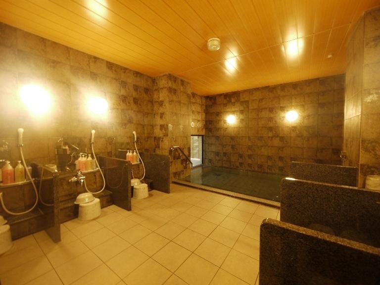 男女別ラジウム人工温泉大浴場「旅人の湯」