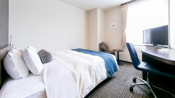 【禁煙】ワイドダブル(ベッド幅164cm)天然温泉付ホテル