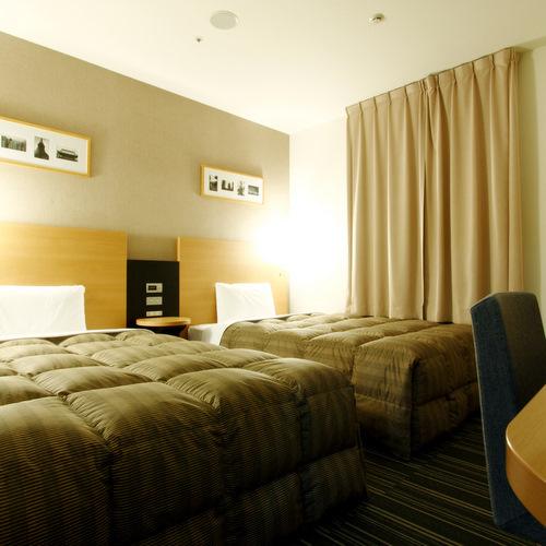 ◆ツインスタンダード◆ベッド幅123センチ◆広さ24平米◆