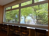 ◆明るい朝食コーナー◆