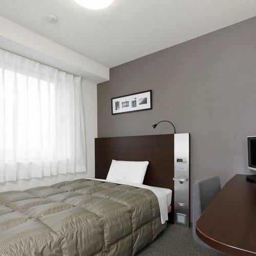 ◆ダブルエコノミー◆広さ13m2◆ベッド幅140センチ◆