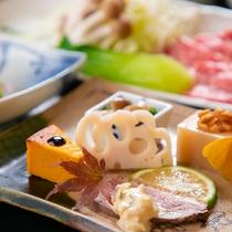 【旬会席】※表示画像はイメージです。季節などによりお料理内容が変わります。