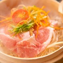 【ご朝食・地獄蒸し】※表示画像はイメージです。季節などによりお料理内容が変わります。