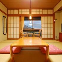 *【客室一例/和室8畳】箱根の自然に癒されながら、ゆったりとしたひとときをお過ごしください。