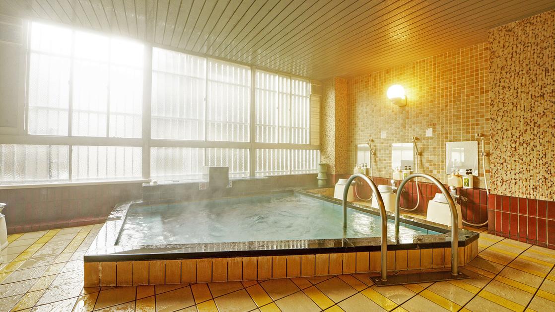 *【大浴場】ゆっくり旅の疲れを癒してくださいね。