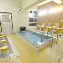 *【中浴場】広々・・・とはいきませんが、のんびりお入りいただけます。
