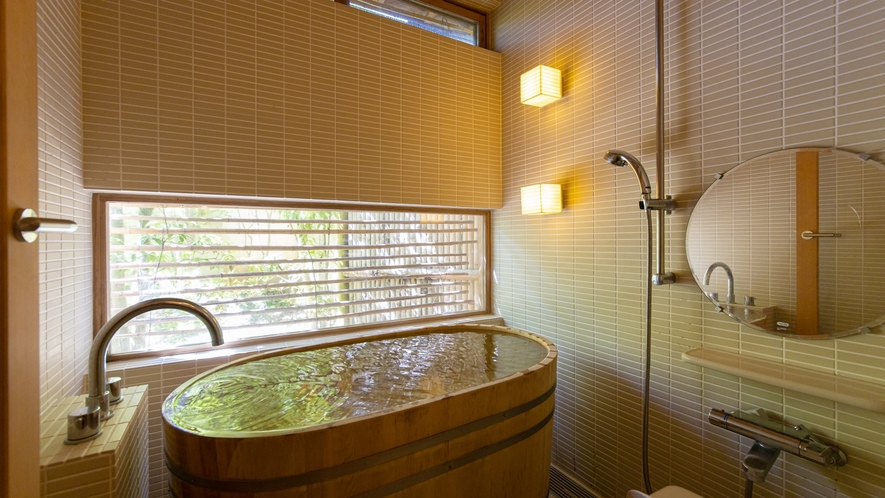 *【Room2・檜風呂】檜の香りに包まれて癒されてください