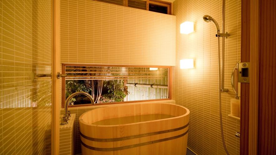 *【風呂】檜の香りに包まれて、旅の疲れを癒してください