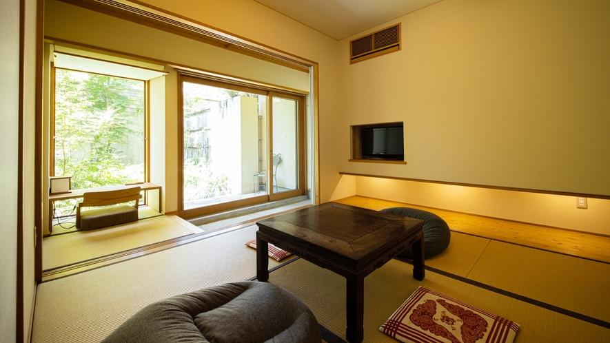 *【Room1・和室】窓からは庭がご覧いただけます