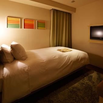 ベッド幅110cmコンパクトシングル【喫煙可】(13平米)