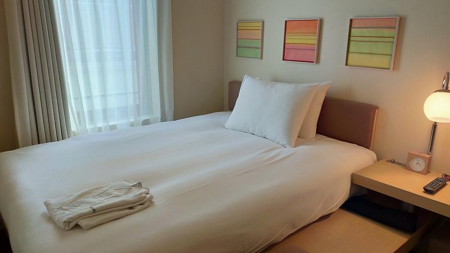 【モダレット】1名様でベッドをひろびろ使うのもおすすめです!