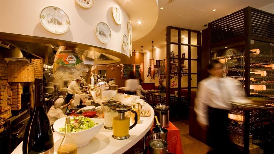 【イルキャンティ・エスト】朝食は人気のイタリアンレストランで・・・