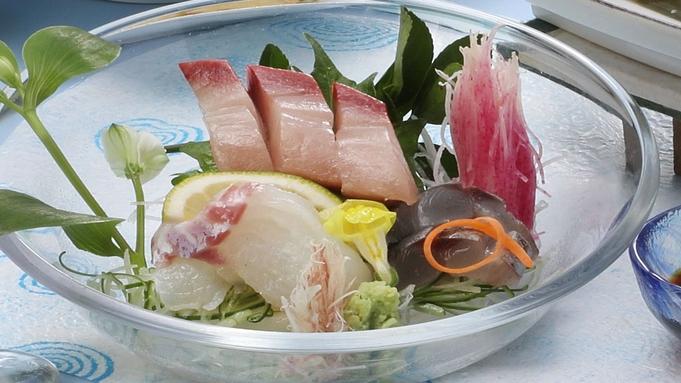 【夏旅セール】当館一番人気の基本コース【夏の花心会席】島根近海鮮魚3種×奥出雲豚しゃぶしゃぶ鍋