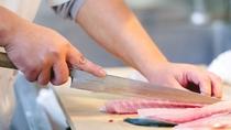 ◇白石家のお刺身は、朝獲れ鮮魚を夕食スタート時間に合わせて捌いていきますので鮮度が抜群。拘ります。