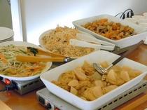 朝食バイキング総菜(和食)