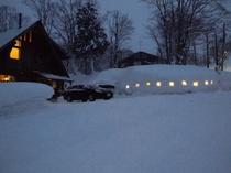 外観・冬・夜