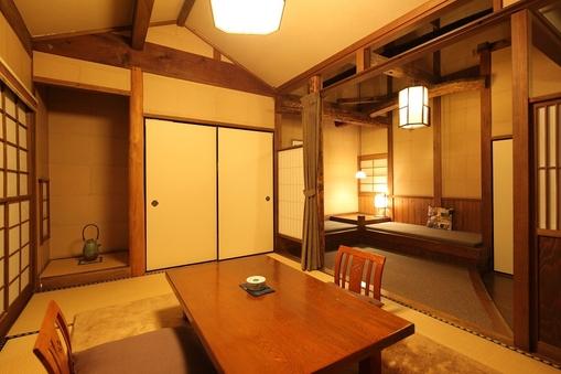 和室6畳+板の間6畳(ソファーベッド付)