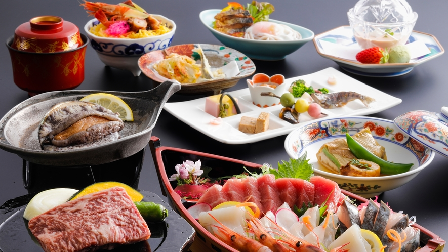 贅沢丹後の恵み×和食(一例)