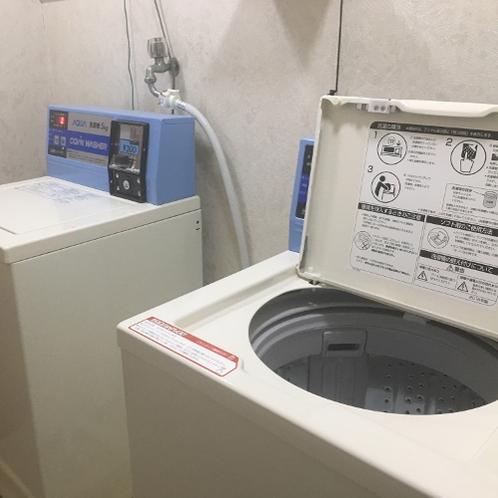 コインランドリー4階、洗濯機・乾燥機
