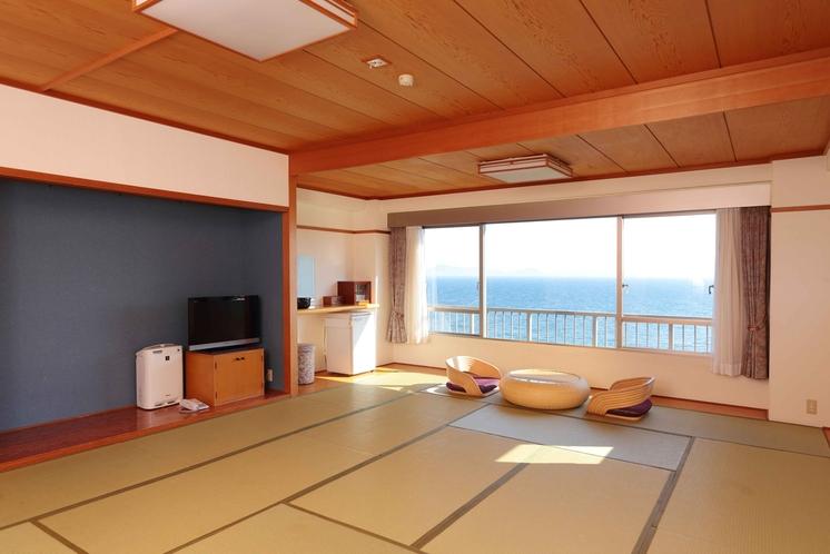 眺望海バスウォシュレット付トイレ空気清浄機空冷蔵庫テレビ付、17.5畳、30平米