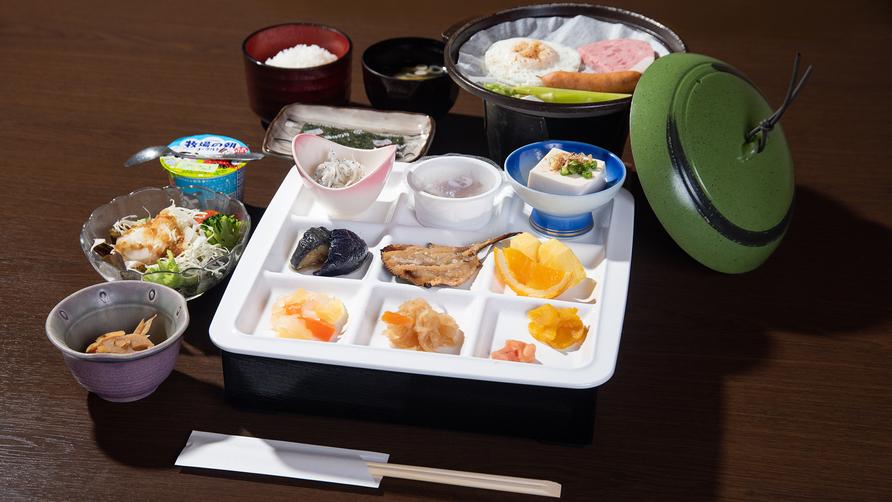 *【朝食一例】バランスのとれたお食事をご用意。