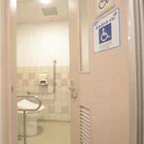 *1階にはバリアフリーのトイレがございます。