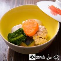 【蓋物/一例】 小国野菜の炊き合わせ