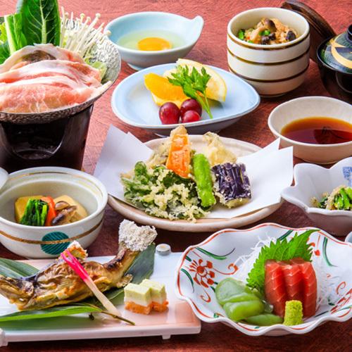 スタンダードなコース・茶臼山四季コース【2019秋】  <イメージ>
