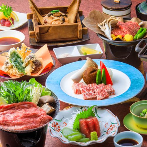 まろやかな甘みが特徴の鳳来牛・信州プレミアム牛コース【2019秋】<イメージ>