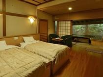 客室一例 露天風呂付客室 洋室