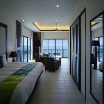 ◇ホテル棟12F カフースイート(70平米/116平米)