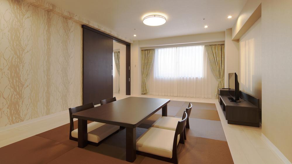[なごみルーム]THE HAMANAKO初の和室&洋室のコネクティングルーム♪