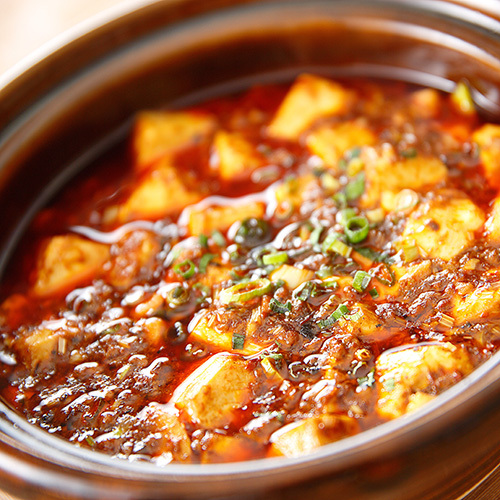 中国料理 麻婆豆腐のイメージ