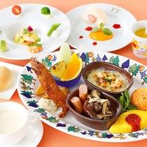 お子様料理(小学生・フランス料理)のイメージ