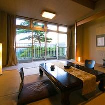 ■和室10畳 -三俣山view-■