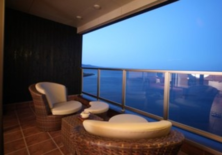 海の棟 テラス 一例