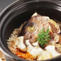 鯛の土鍋ごはん