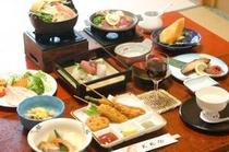 夕食季節料理