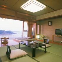 ■海幸園客室(パンフ)
