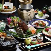 ■料理 集合(伊勢造り・鮑焼・伊勢焼)