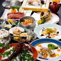 ■料理集合96(伊勢イメージ・牛鍋・牡蠣3種)